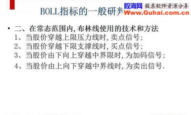 BOLL指标入门与应用(图解)