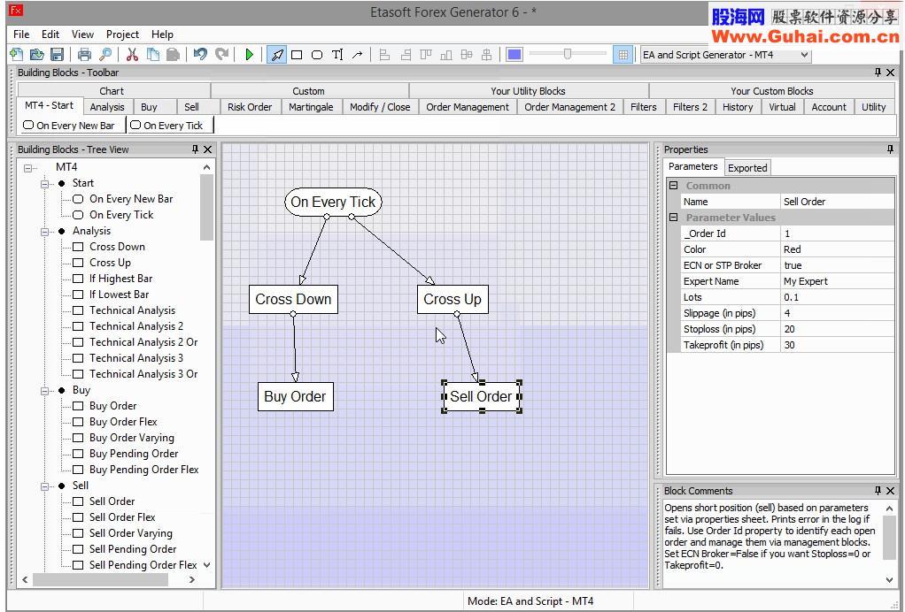 Forex EA Generator 6.1 Build 1133和諧版