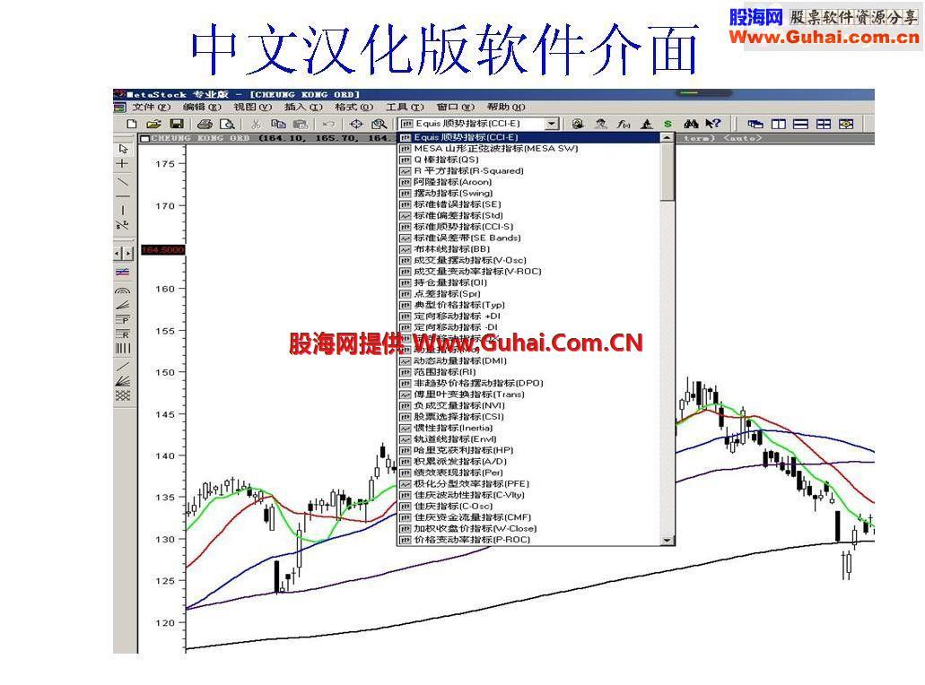 MetaStock选股系统与技术指标介绍(汉化版下载)