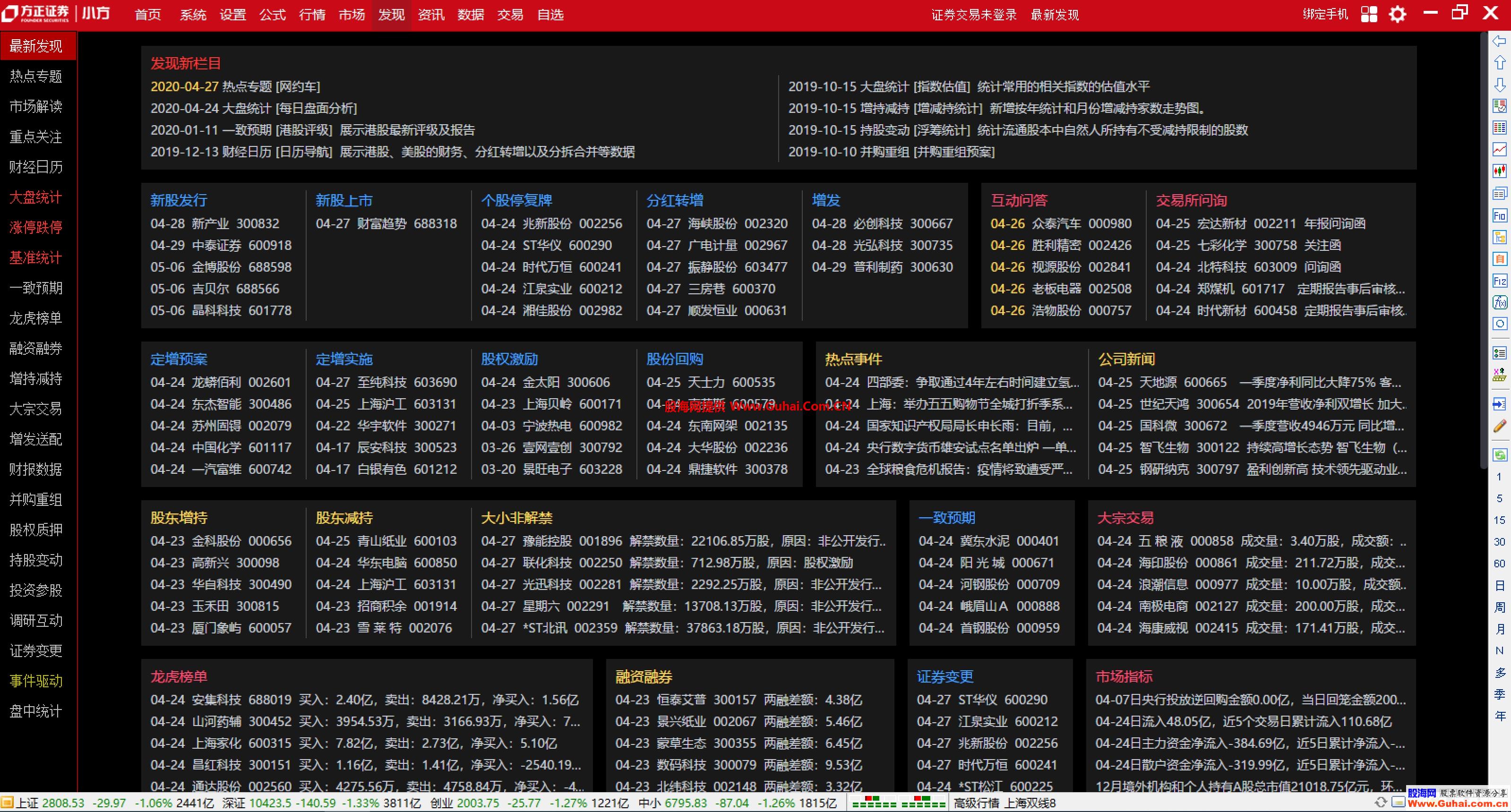 方正證券小方7.17通達信6.0內核/BS落地/ VIP/多券商交易